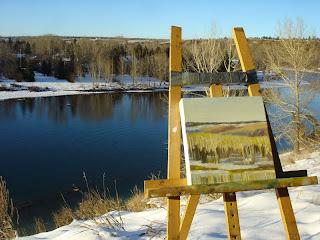 alberta landscape painting #64