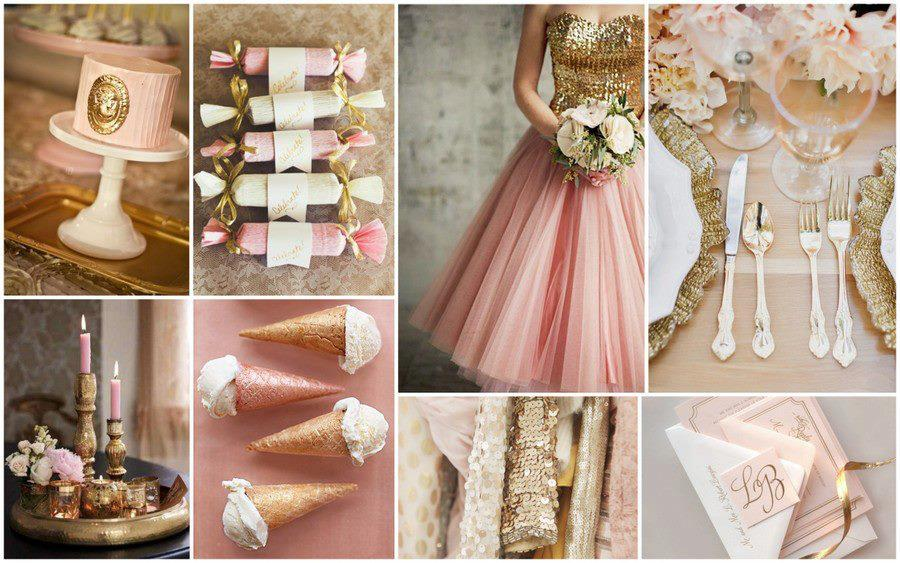 Lisa Teller Bridal Makeup Artist A Romantic Blush Gold Wedding
