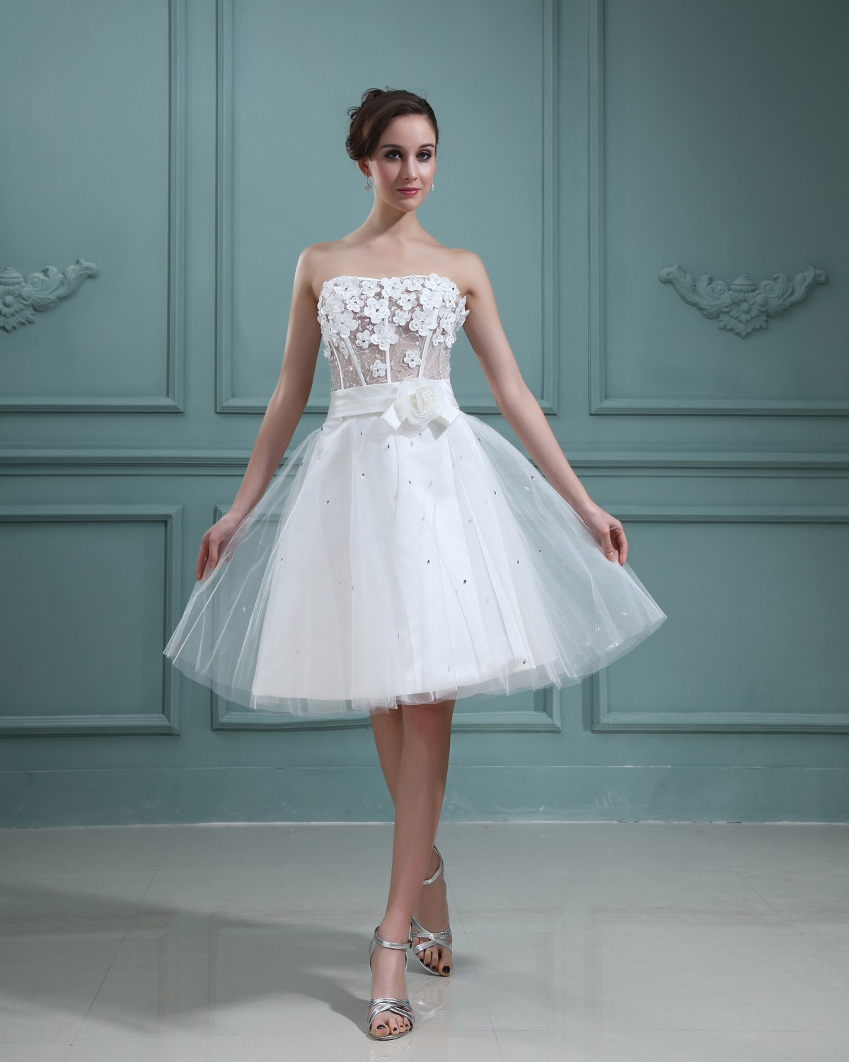 BarbraNewton\'s blog: would you rock a short wedding dress??