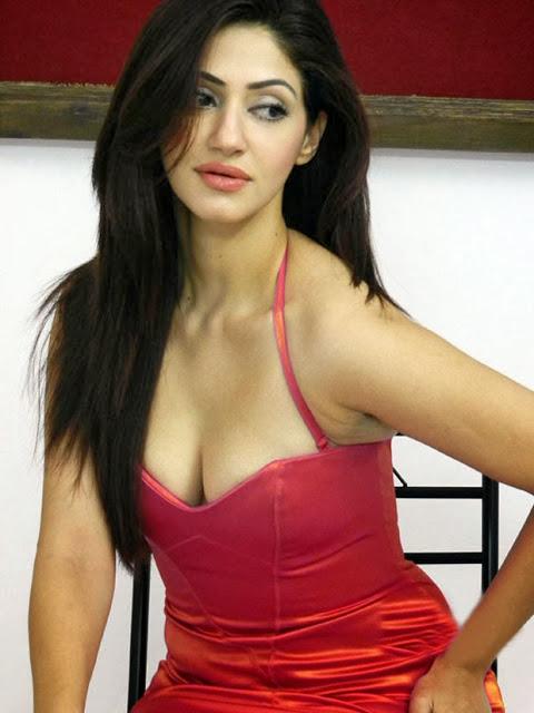 Reyhna Malhotra In Red Dress