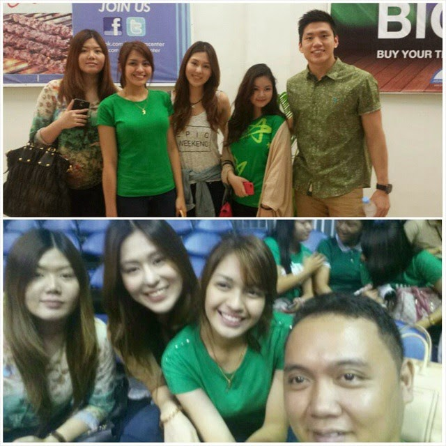 Jane Oineza with Jeron Teng, his sisters and Eliza Pineda