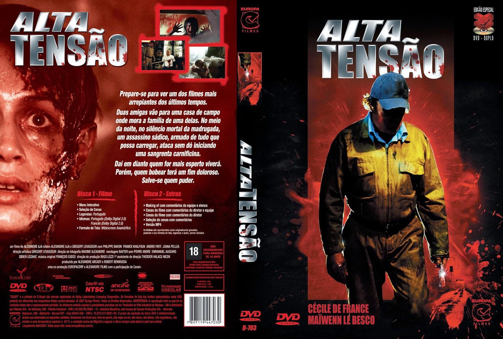 Capa DVD Alta Tensão