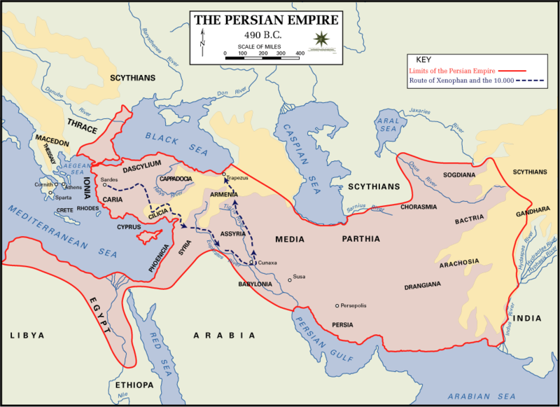"""10 Things You Should Know About The Achaemenid Persian Empire: TYWKIWDBI (""""Tai-Wiki-Widbee""""): The Achaemenid Empire (4th"""