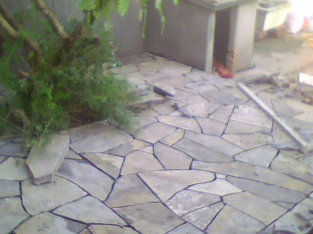 pedra miracema jardim:Pedra Ouro Preto: Lajão e pedra cerrada e almofadada e lajinha.