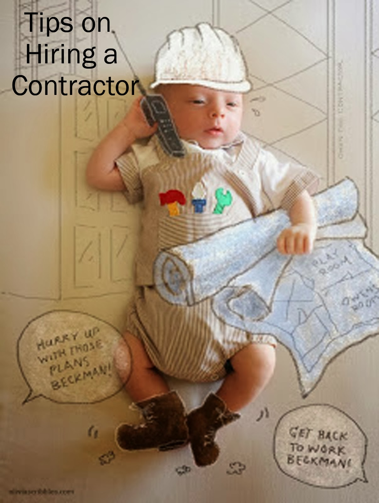 The story of us hiring a contractor for Hiring a contractor