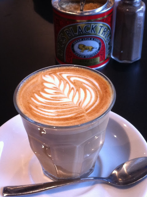 Flat white at Spicer+Cole