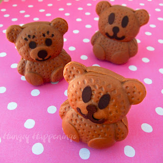 caramel milk chocolate bears