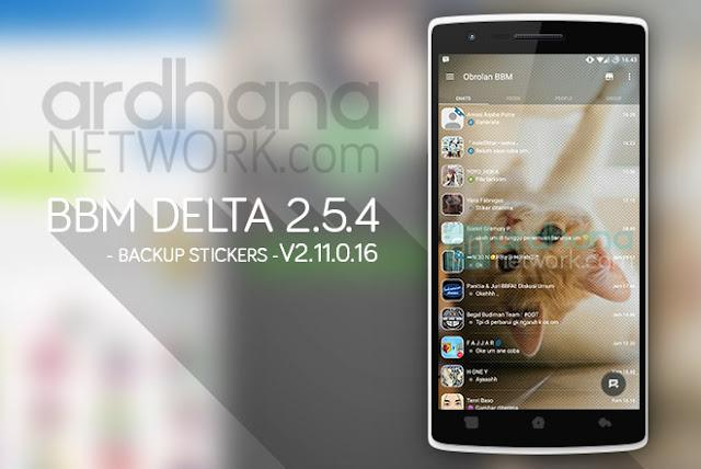 BBM Delta V2.5.4 - BBM Android V2.9.0.51