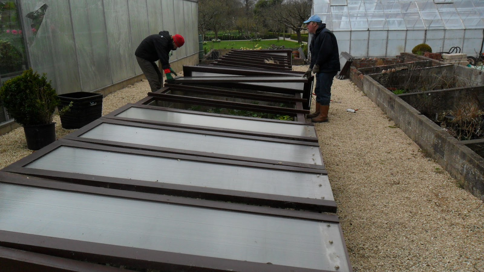 Worcester College Gardeners From Greenhouse To Peach