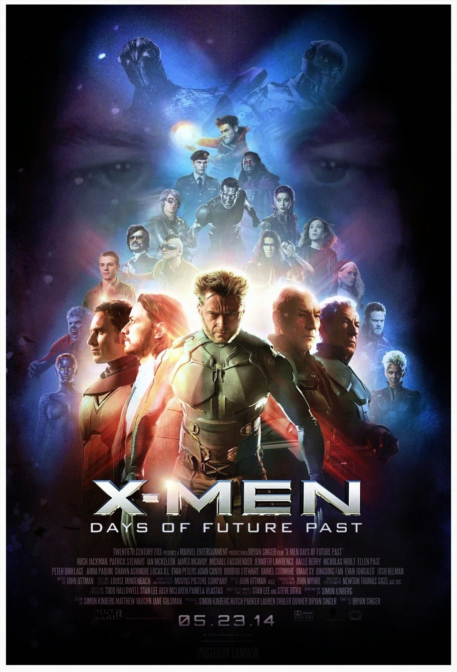X-Men: Days of Future Past 2014 - Full (HD)