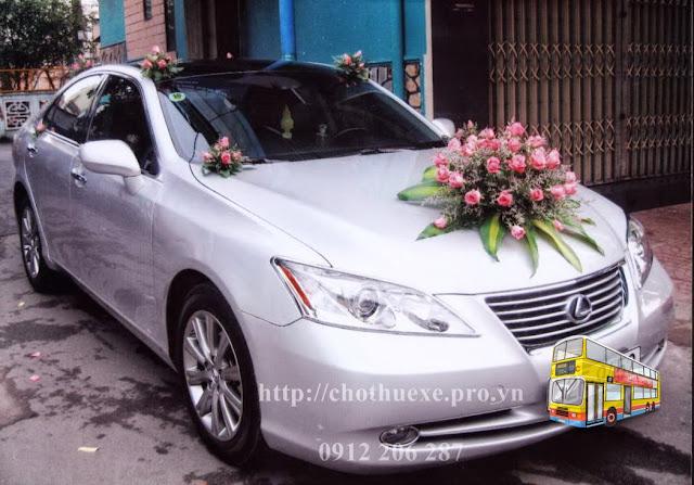 Cho thuê xe cưới Lexus ES350 hạng sang