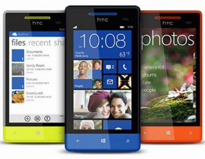 Three UK Releases HTC Windows Phone 8S Smartphone