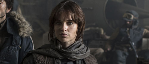 First Star Wars Rogue One image featuring Felicity Jones