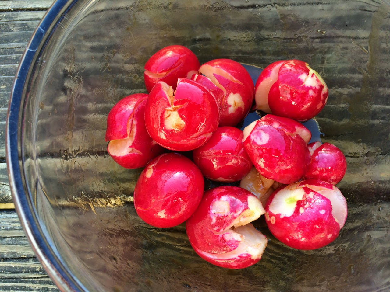 Radishes in Chili Oil