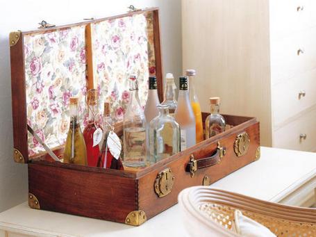 Kp tienda vintage online maleta antigua vintage suitcase for Maletas vintage decoracion