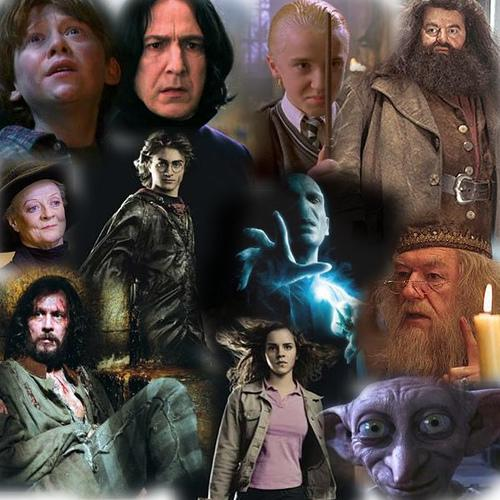Harry Potter Book Characters : Creative class harry potter books review