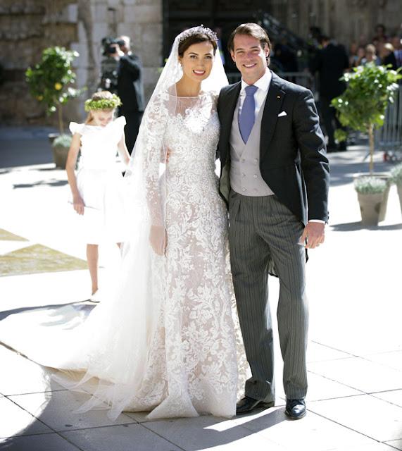 Boda de los príncipes Félix y Claire de Luxemburgo