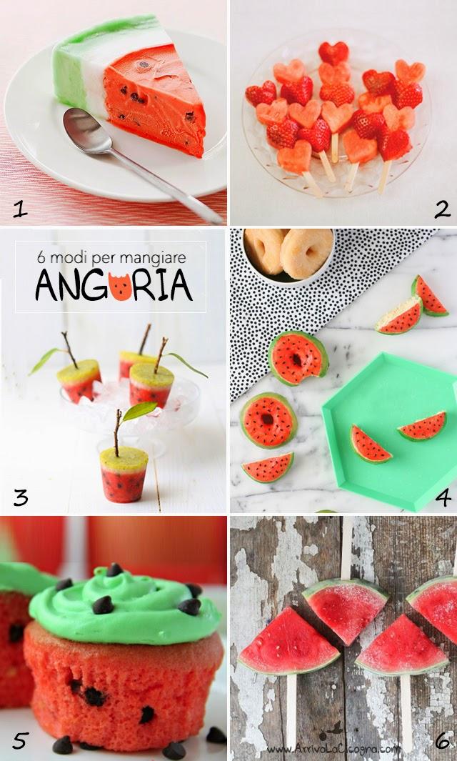 ricette a base di anguria per bimbi