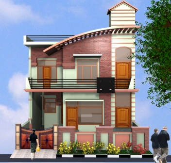 3D View of Architechural design Home. ~ Ritewall LoLz