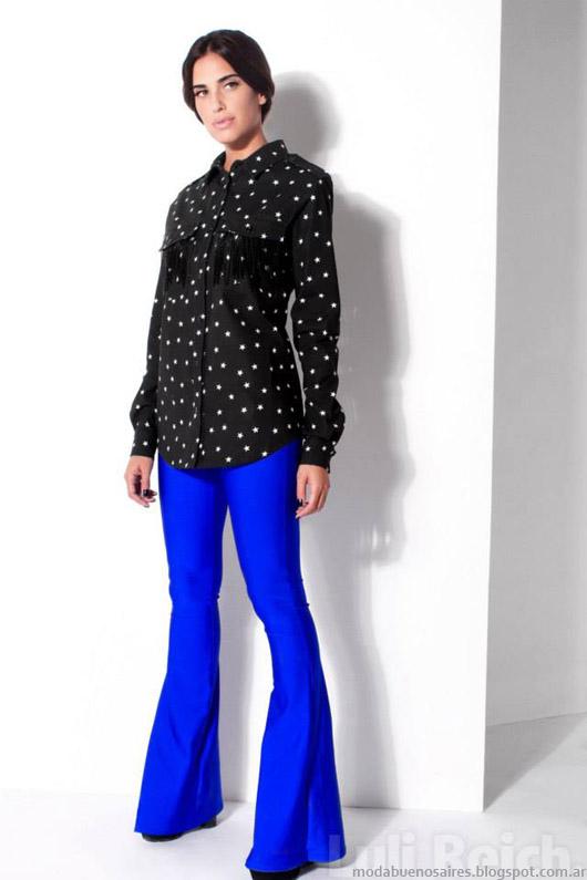 Blusas de moda invierno 2014. Luli Reich otoño invierno 2014.