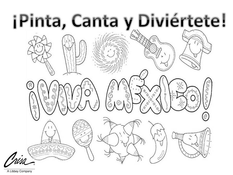 Sombrero Mexicano Para Colorear Y Pintar 4 Dibujo | Mejores Vestidos ...