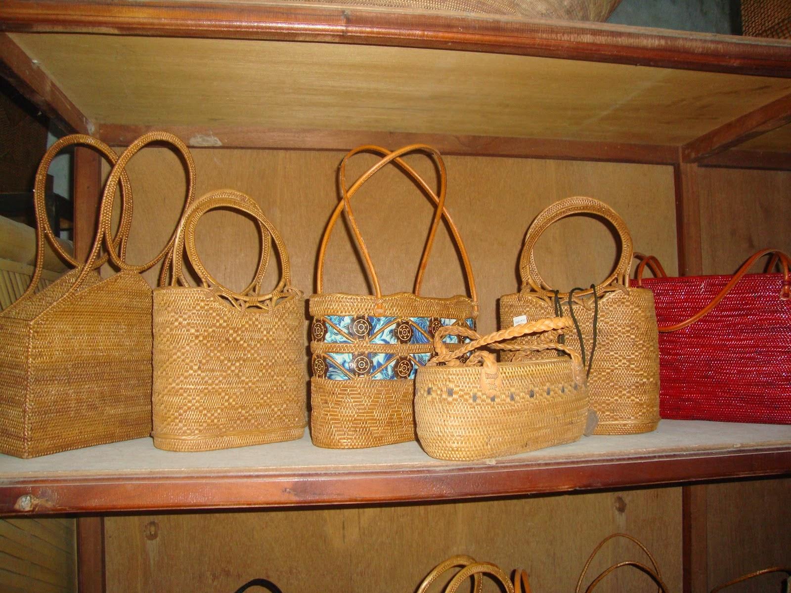 tas cantik dari ketak lombok