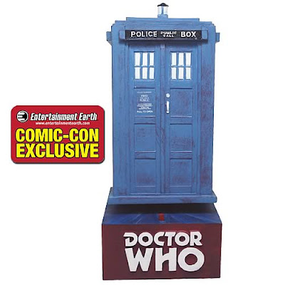San Diego Comic-Con 2011 Exclusive Doctor Who TARDIS Bobble Head with Sound by Bif Bang Pow!