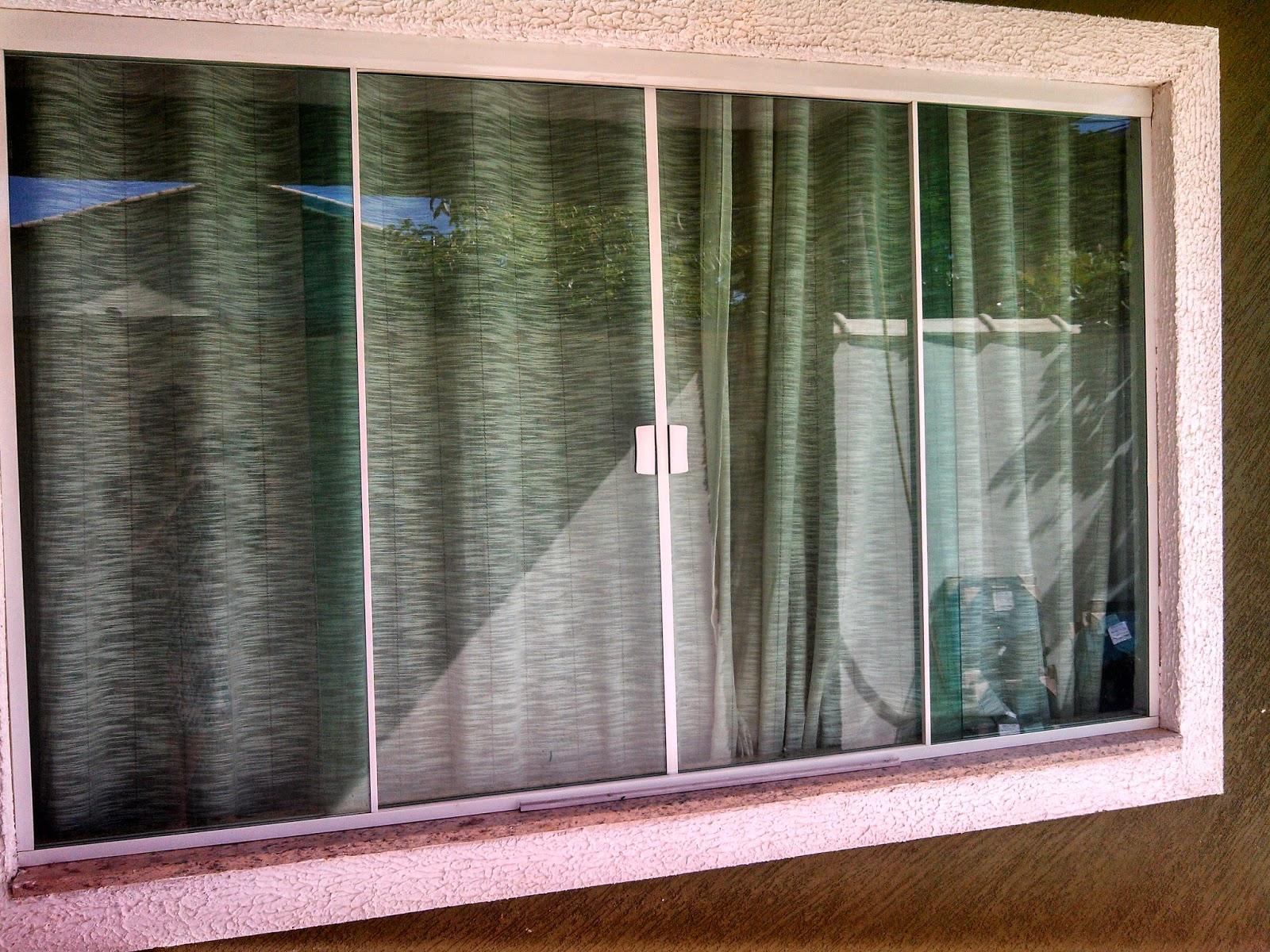#65412A JRM Vidraçaria: Janela de 4 folhas em vidro temperado verde. 298 Janelas De Vidro Temperado 2 Folhas