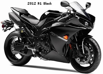 2012 Yamaha R1 color full black