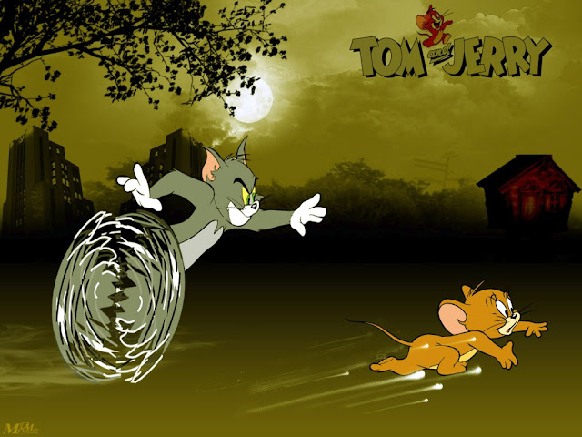 Gambar Kartun Tom and Jerry
