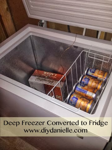 How to convert a deep freezer to refrigerator easily