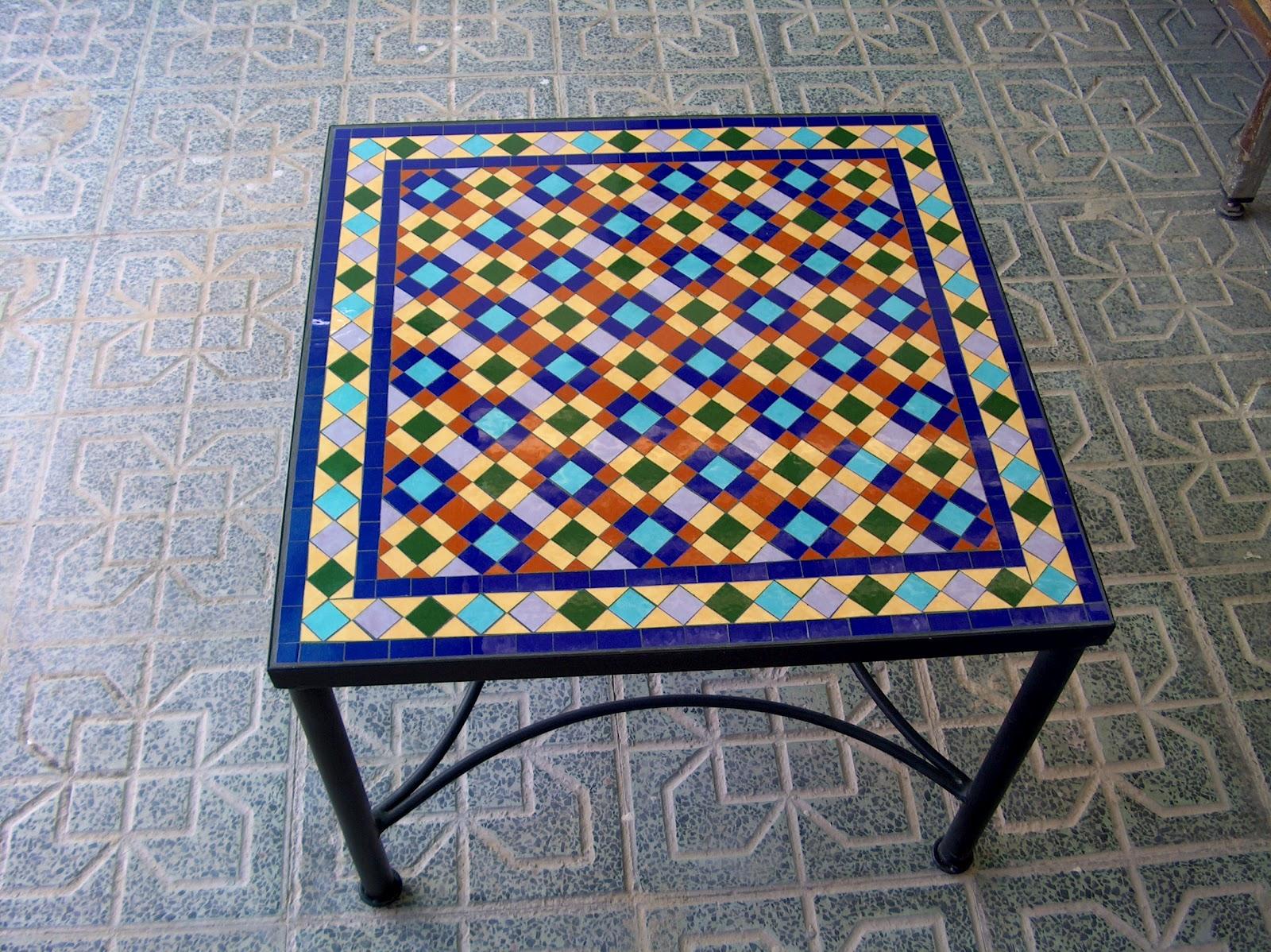 Mosaicos imagui for Mesas de mosaico
