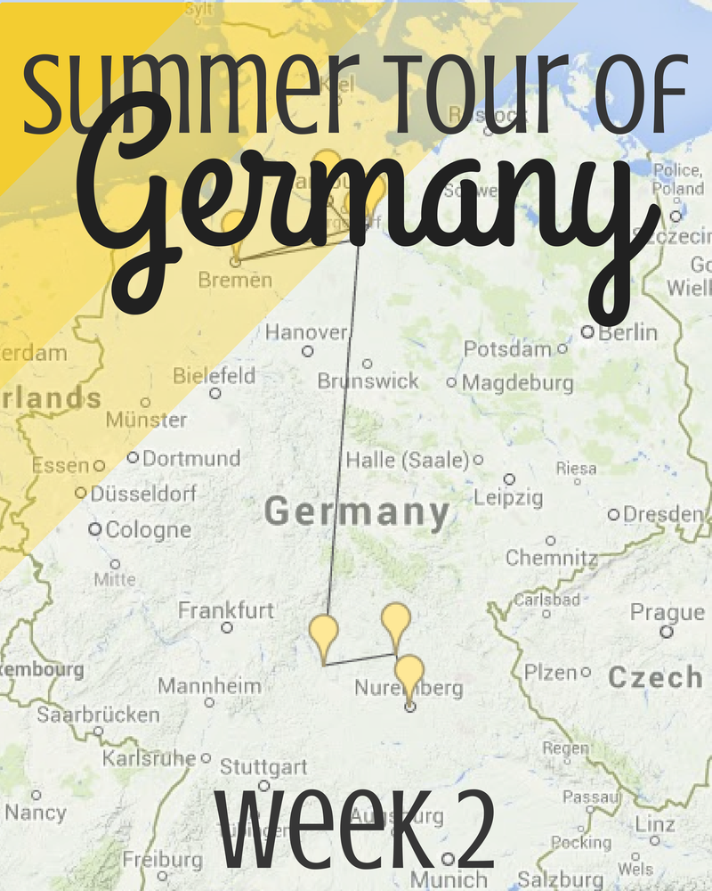 Summer Tour Through Germany, Week 2