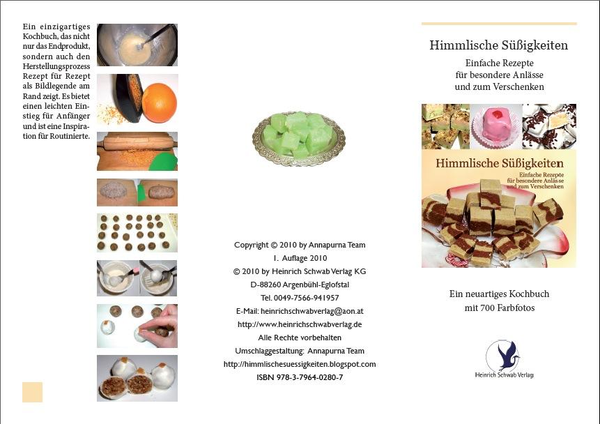 Himmlische Süßigkeiten: Kochbuch