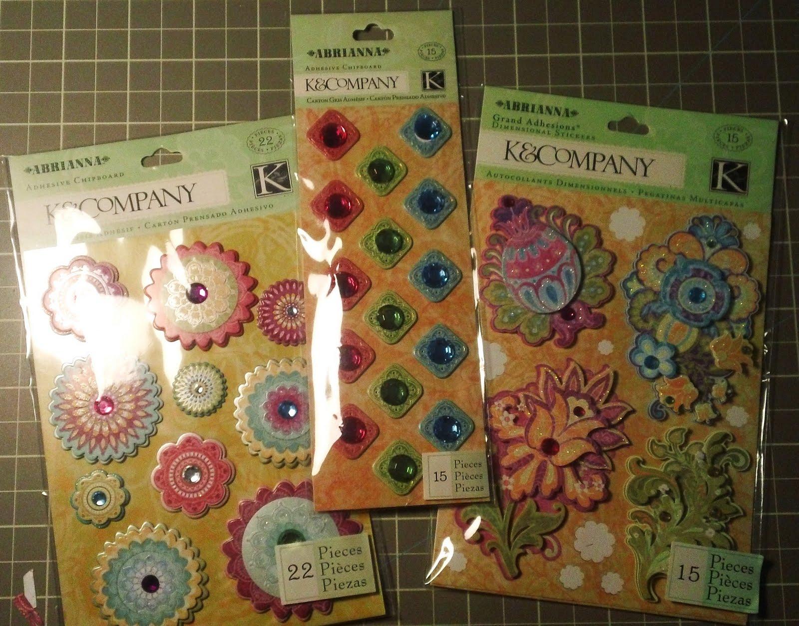 Abrianna Collection Adhesivos Actividades creativas