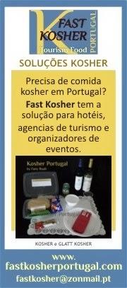 REFEIÇÕES KOSHER PARA O TURISTA EM PORTUGAL