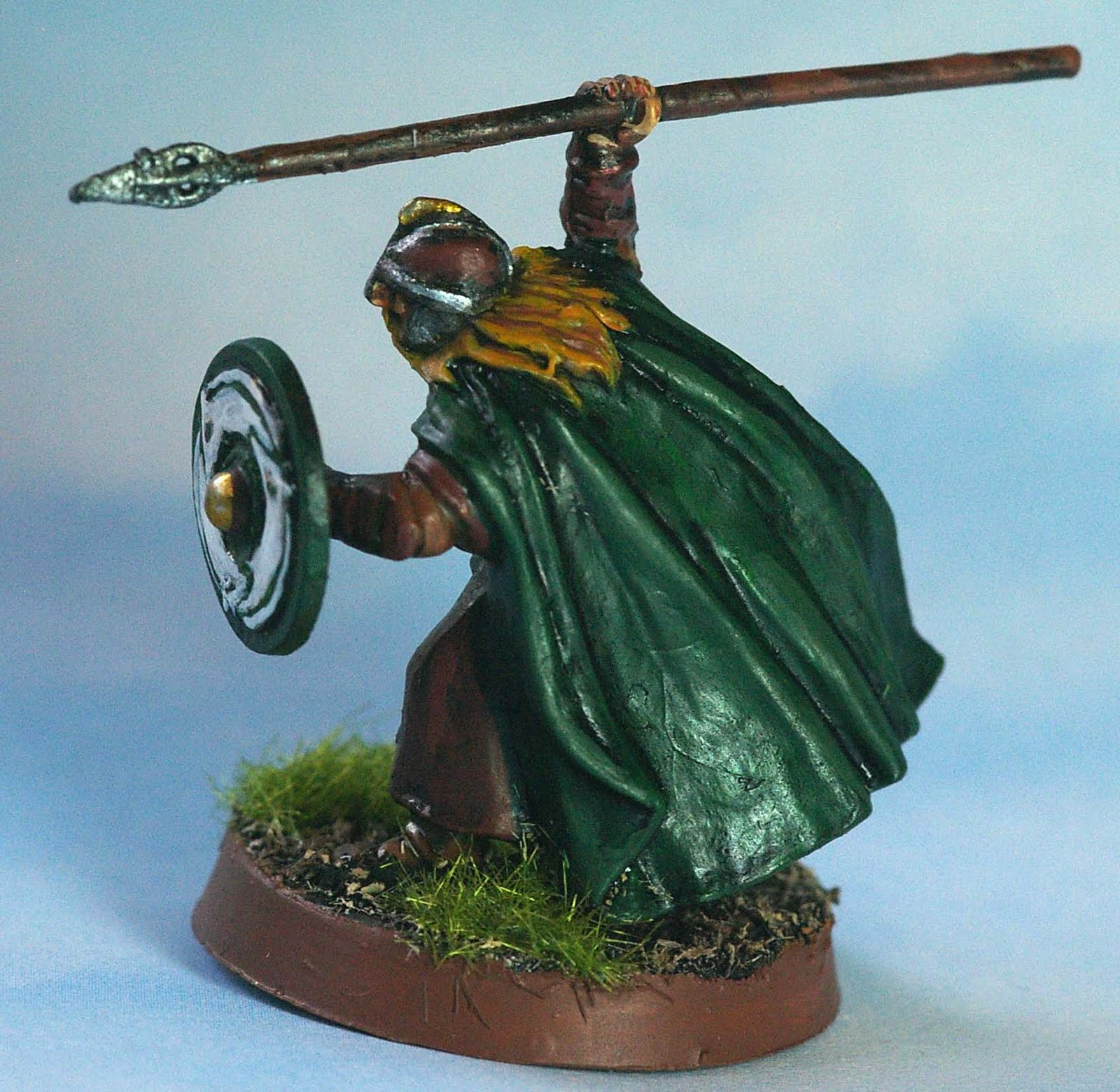 Painted figures older citadel and gw miniatures warrior for Rohan design
