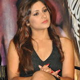 Prabhjeeth Kaur Hot Photo Gallery in Short Dress at Intelligent Idiot Movie Logo Launch 26