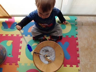 Treasures baket - playing