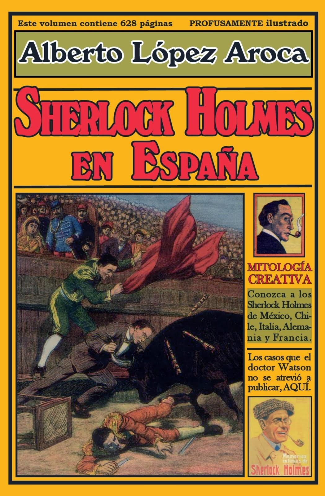 """""""SHERLOCK HOLMES EN ESPAÑA"""", 25 euros"""