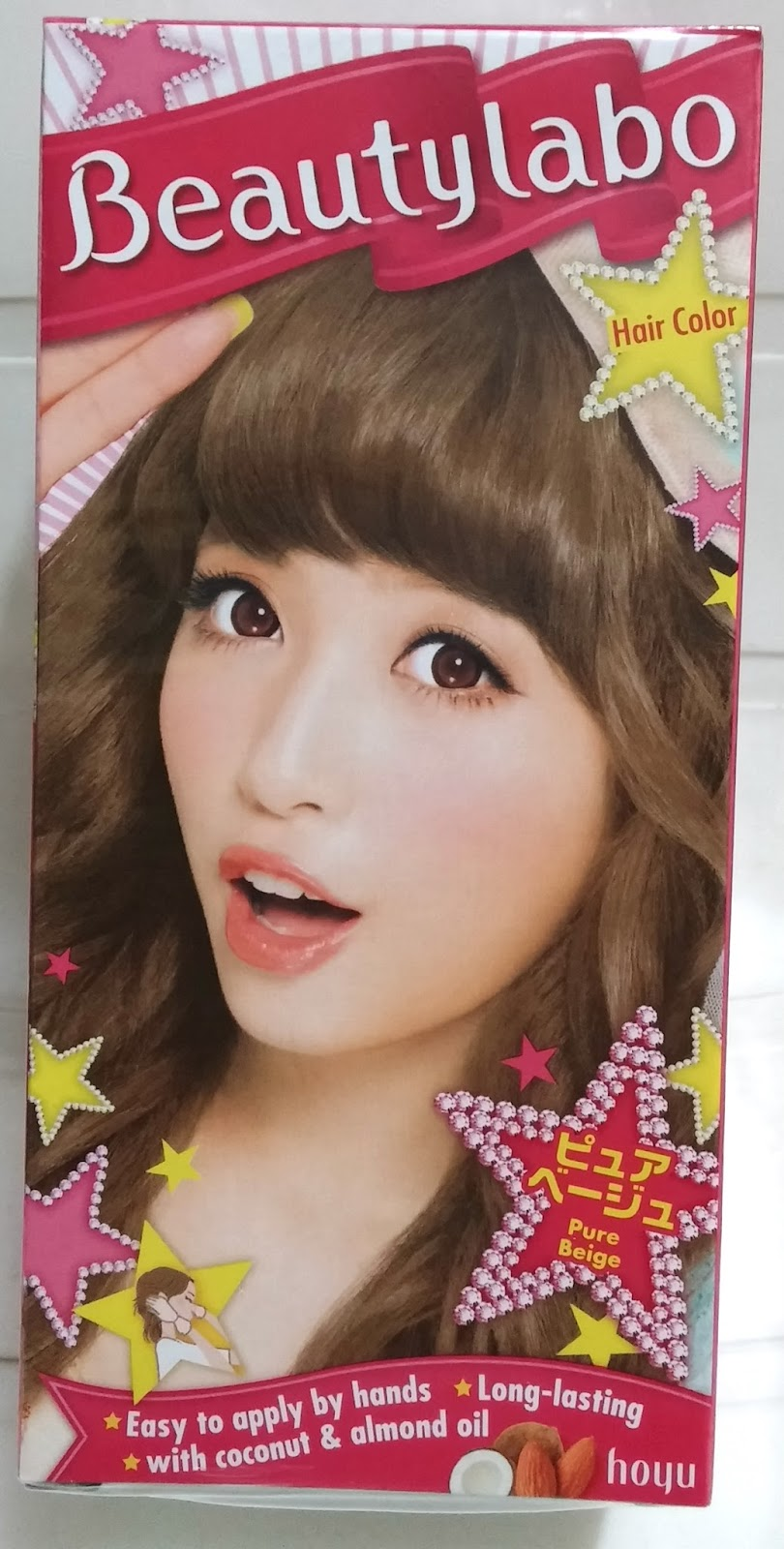 Wateryscenery Hoyu Beautylabo Hair Color Pure Beige Review