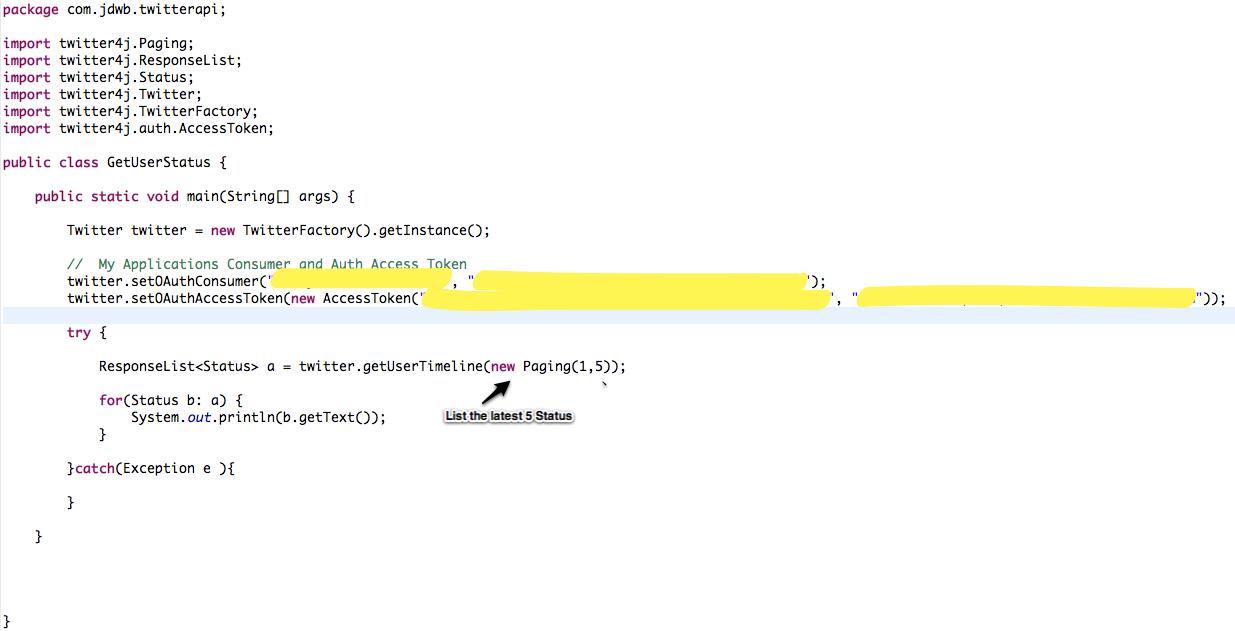 Twitter API on your Java Application   Java Code Geeks - 2019