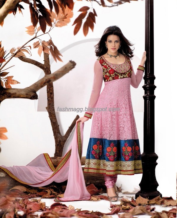 Anarkali Churidar Festival Frocks Fancy Dress Designs New Fashionable ...