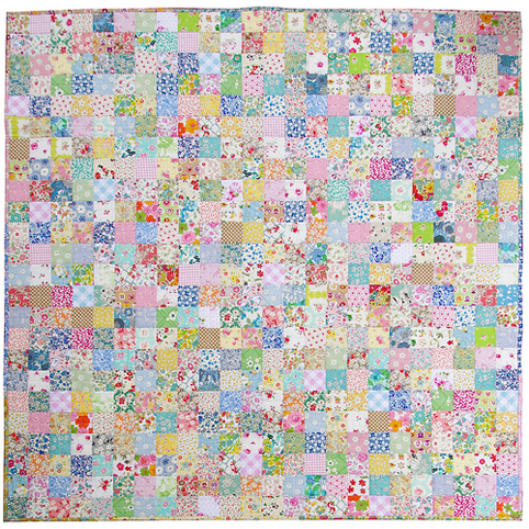 Red Pepper Quilts: Scrappy Liberty Patchwork Quilt : patchwork quilt squares - Adamdwight.com