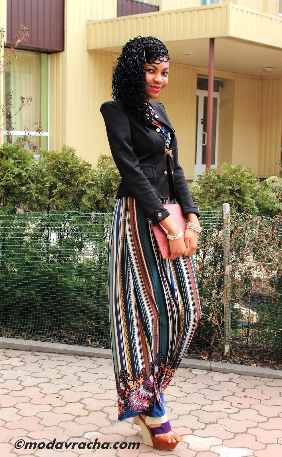 Nigerian fashion blogger modavracha
