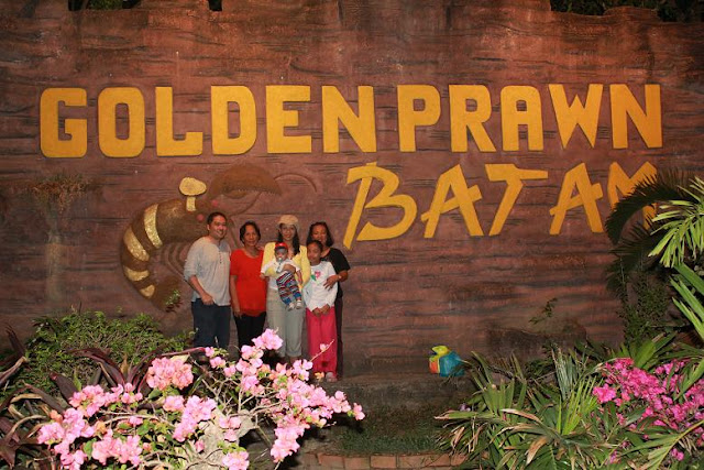 Golden Prawn Restaurant, Batam Island, Indonesia