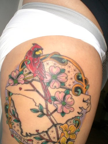 Tattoos designs art cardinal tattoos for Small cardinal tattoo