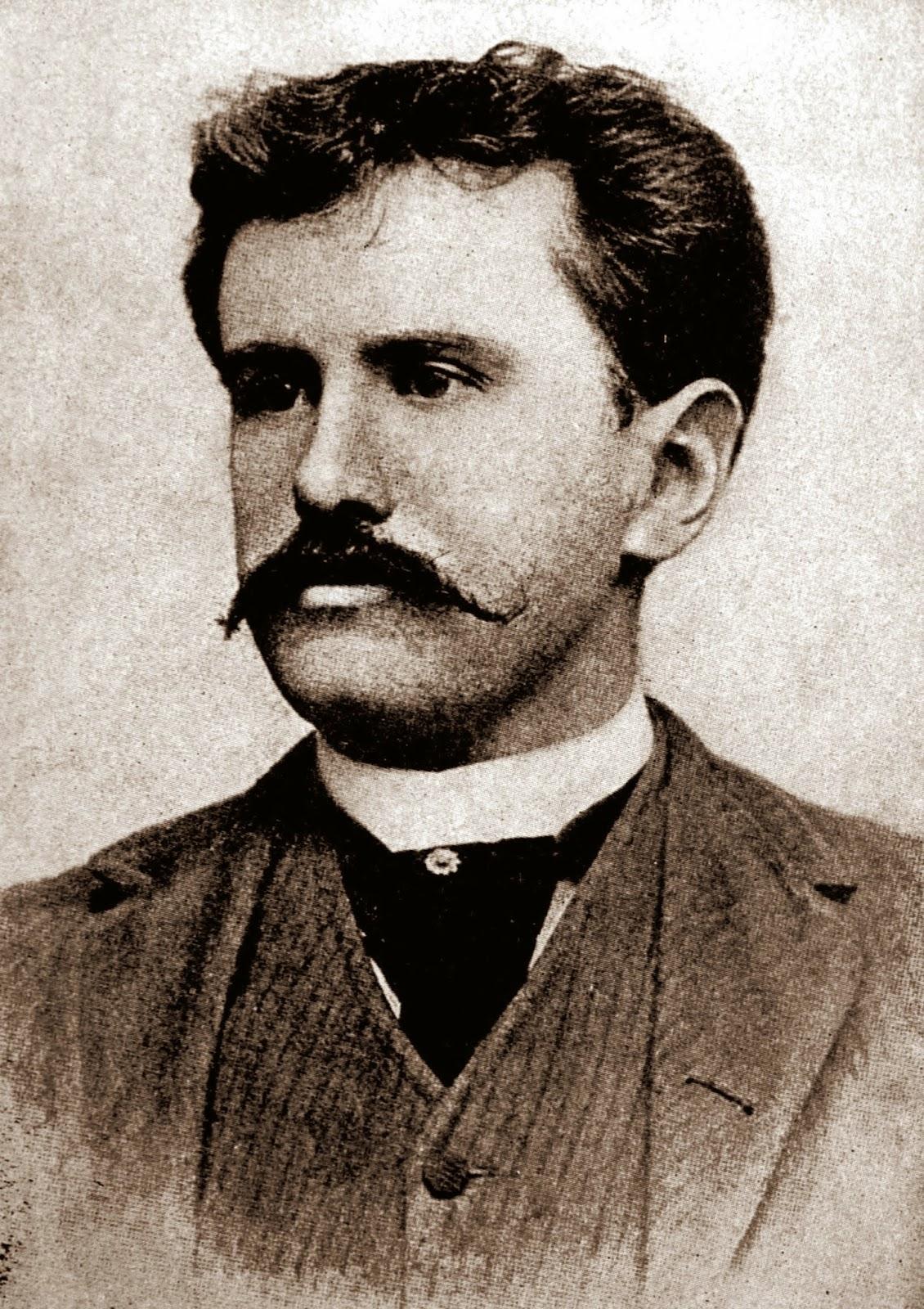 O Henry - Humorist.  Image source: http://upload.wikimedia.org/wikipedia/commons/5/55/William_Sydney_Porter.jpg
