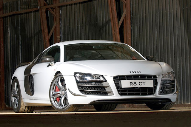 2012 Audi R8 GT White Wallpaper