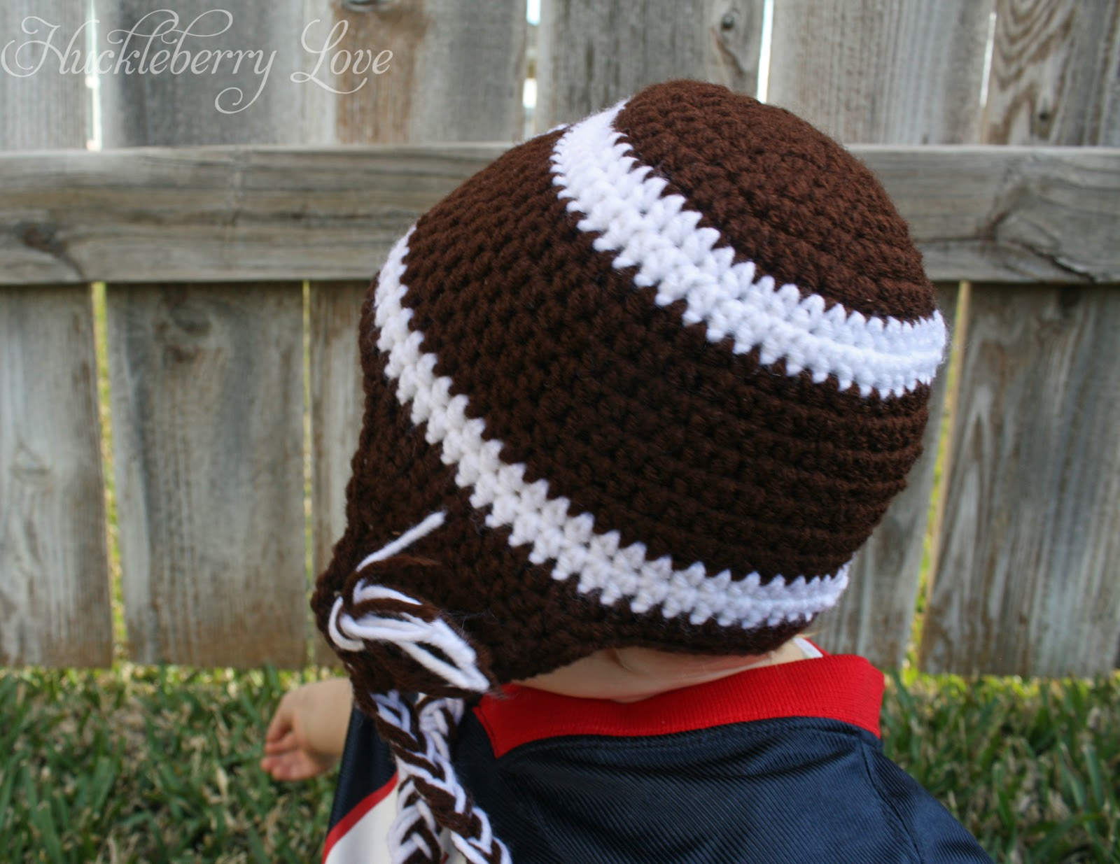 Free crochet pattern for football hat manet for huckleberry love crochet football hat w earflaps free bankloansurffo Choice Image